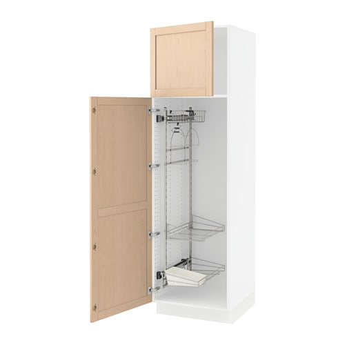 ikea kitchen cabinet catalog sektion high cabinet w pull out organizers white 4456