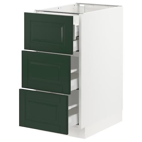 IKEA SEKTION / MAXIMERA Base cabinet w/3 fronts & 4 drawers