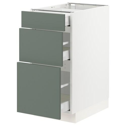 IKEA SEKTION / MAXIMERA Base cabinet with 3 drawers