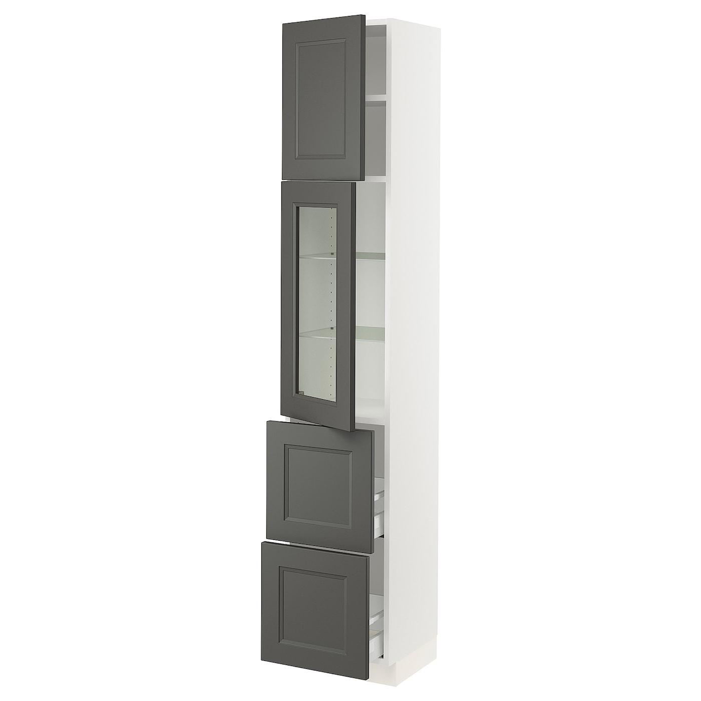 SEKTION / MAXIMERA Hi Cab W/glass Door/2 Drawers/1door
