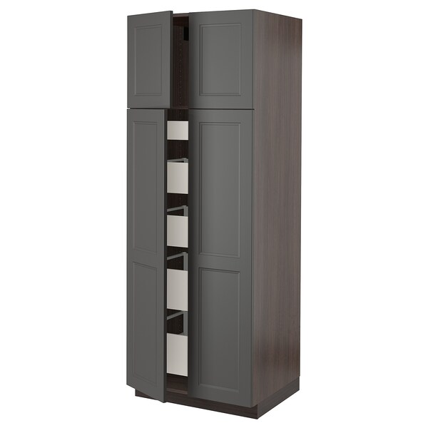 Sektion Maximera High Cabinet With 4 Doors 5 Drawers