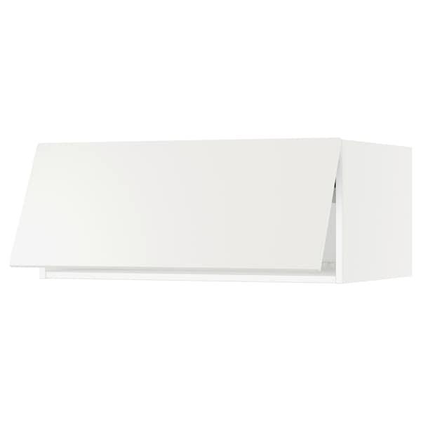 "SEKTION Top cab f fridge/freezer w push-op, white/Häggeby white, 36x24x15 """