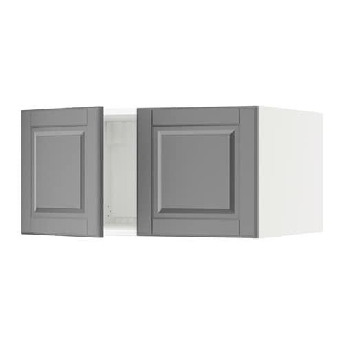 Sektion Top Cabinet For Fridge W 2 Doors