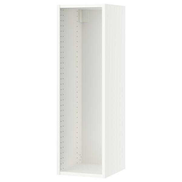 "SEKTION Wall cabinet frame, white, 12x14 3/4x40 """