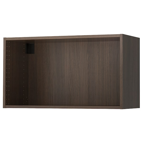 SEKTION Wall cabinet frame, wood effect brown, 36x14 3/4x20 ""