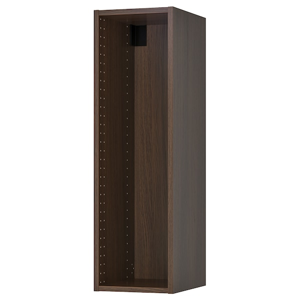 """SEKTION Wall cabinet frame, wood effect brown, 12x14 3/4x40 """""""