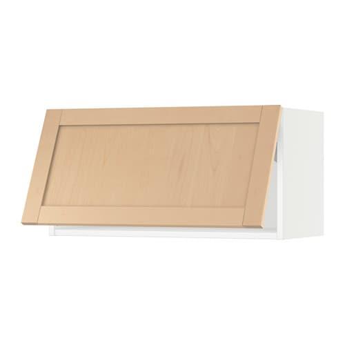 sektion wall cabinet horizontal white bj 246 rket birch 30x15x15 quot ikea