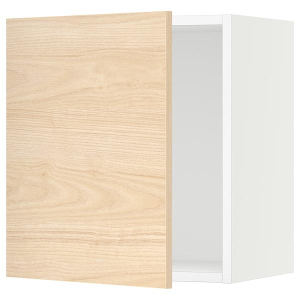 "SEKTION Wall cabinet, white/Askersund light ash effect, 18x15x20 """