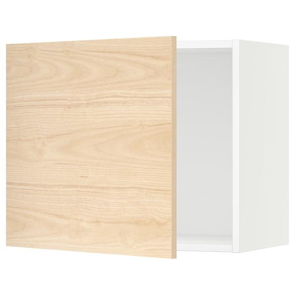 "SEKTION Wall cabinet, white/Askersund light ash effect, 24x15x20 """