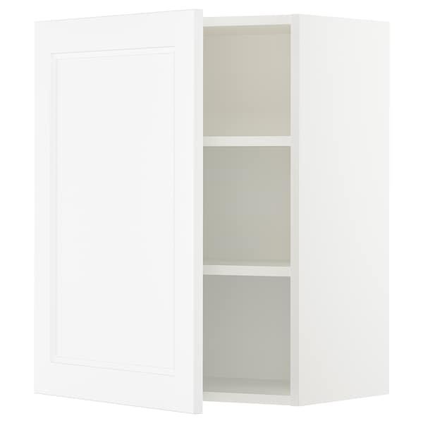 "SEKTION Wall cabinet, white/Axstad matt white, 24x15x30 """