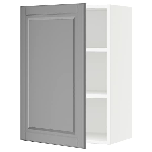 "SEKTION Wall cabinet, white/Bodbyn gray, 21x15x30 """