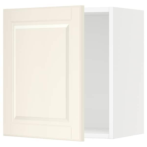 "SEKTION Wall cabinet, white/Bodbyn off-white, 18x15x20 """