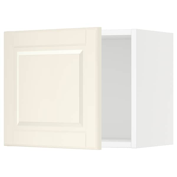 SEKTION Wall cabinet, white/Bodbyn off-white, 18x15x15 ""