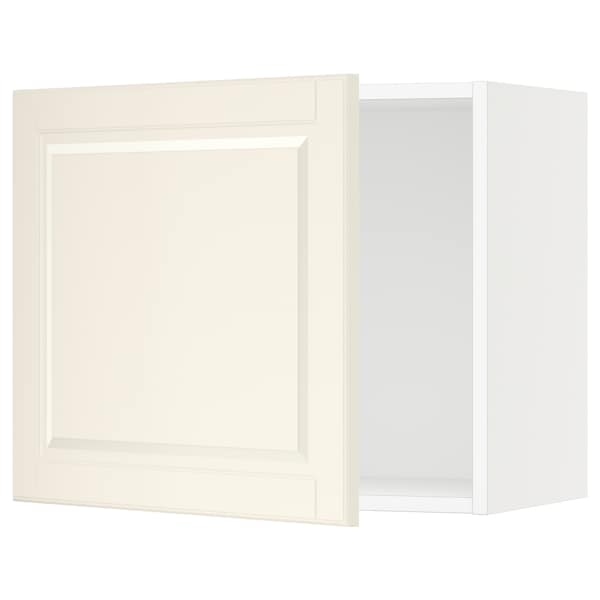"SEKTION Wall cabinet, white/Bodbyn off-white, 24x15x20 """