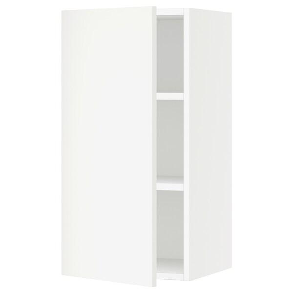 "SEKTION Wall cabinet, white/Häggeby white, 15x15x30 """