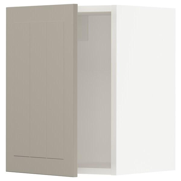 """SEKTION Wall cabinet, white/Stensund beige, 15x15x20 """""""