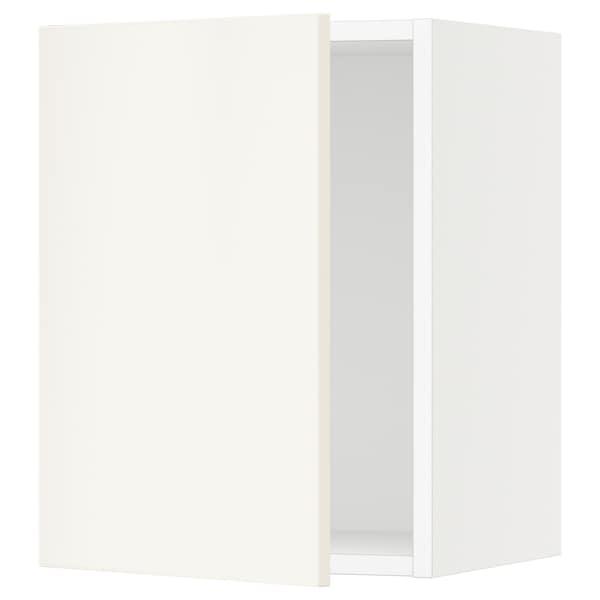 """SEKTION Wall cabinet, white/Veddinge white, 15x15x20 """""""