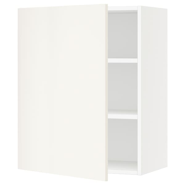 """SEKTION Wall cabinet, white/Veddinge white, 24x15x30 """""""
