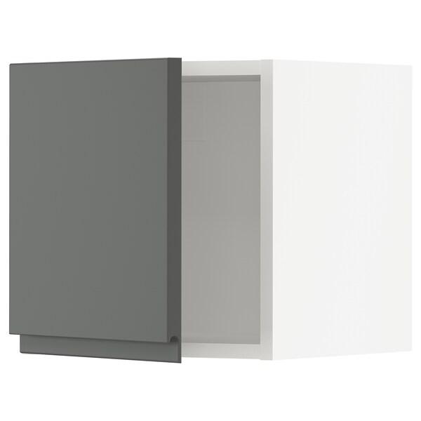 """SEKTION Wall cabinet, white/Voxtorp dark gray, 15x15x15 """""""
