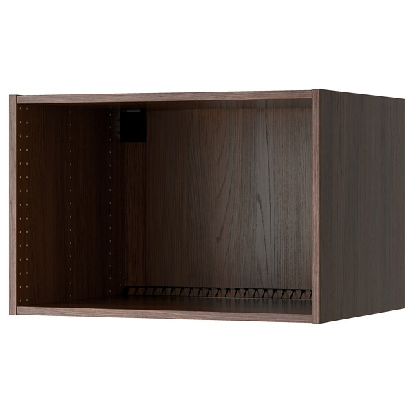 """SEKTION Wall top cabinet frame, wood effect brown, 30x24x20 """""""