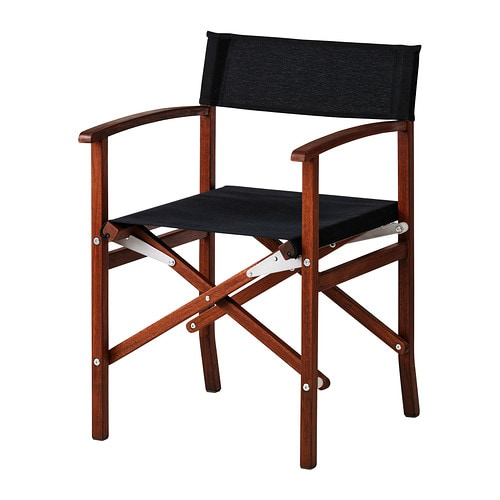 Siar director 39 s chair outdoor ikea for Armoire exterieur ikea