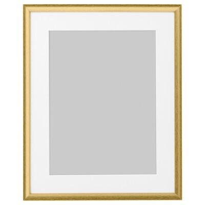 """SILVERHÖJDEN Frame, gold-colour, 16x20 """""""