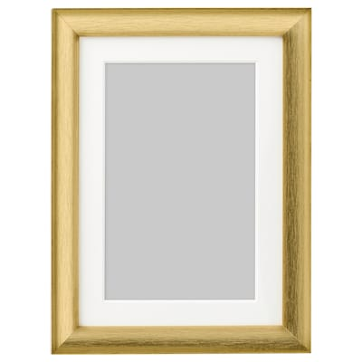 """SILVERHÖJDEN frame gold-colour 5 """" 7 """" 4 """" 6 """" 3 ½ """" 5 ½ """" 6 """" 7 ¾ """""""