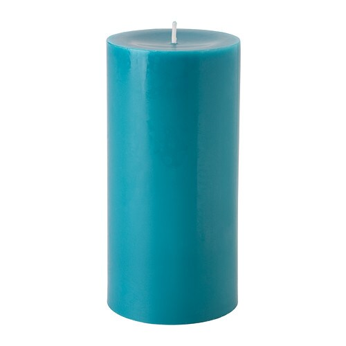 SINNLIG Scented block candle   Creates atmosphere with a pleasant scent of beach breeze and warm candlelight.