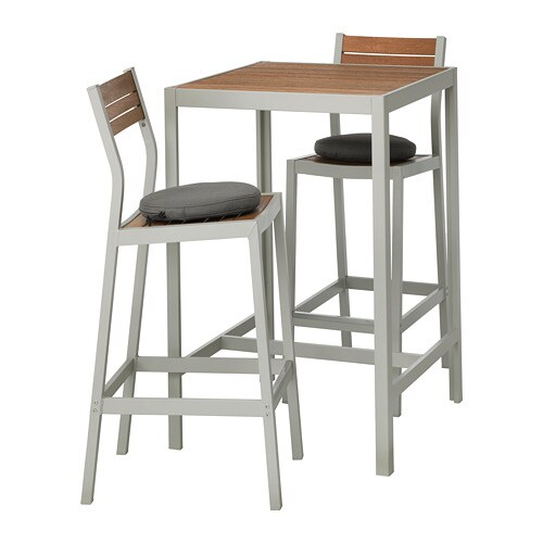 46787574b75a SJÄLLAND Bar table and 2 bar stools