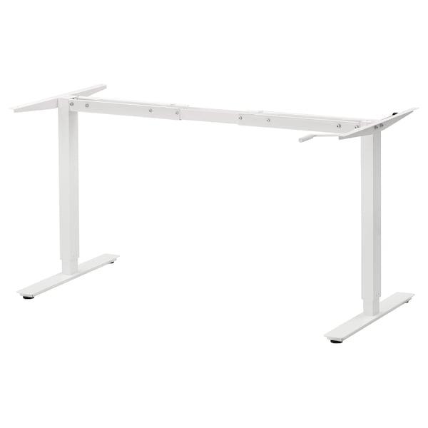 "SKARSTA Underframe sit/stand f table top, white, 47 1/4/63 """