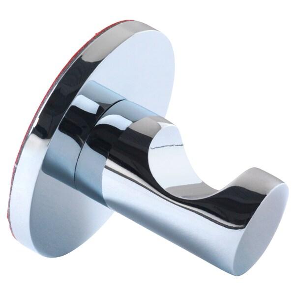 SKOGHALL Hook, self-adhesive, chrome plated