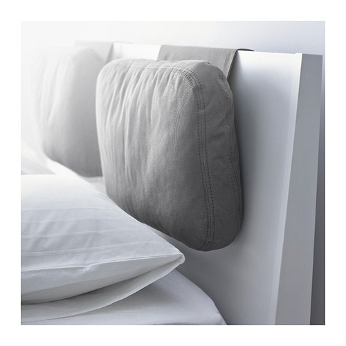 SKOGN Cushion   Adds comfort to your headboard.   Great if you sit up and read or watch TV.