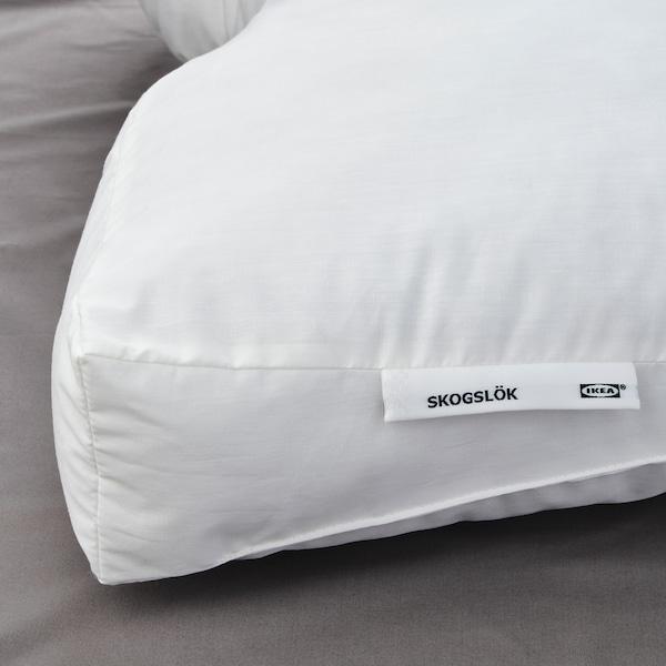 SKOGSLÖK Ergonomic pillow, multi position, Queen