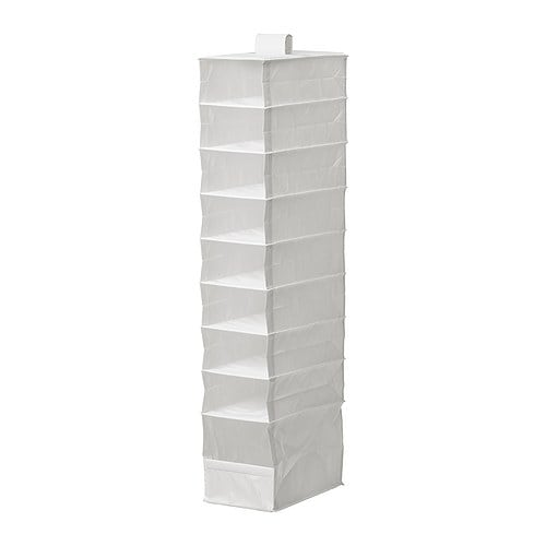 Skubb organizer with 9 compartments white ikea for Ikea meuble a chaussures