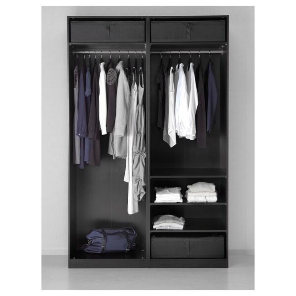 """SKUBB storage case black 27 ¼ """" 21 ¾ """" 7 ½ """""""