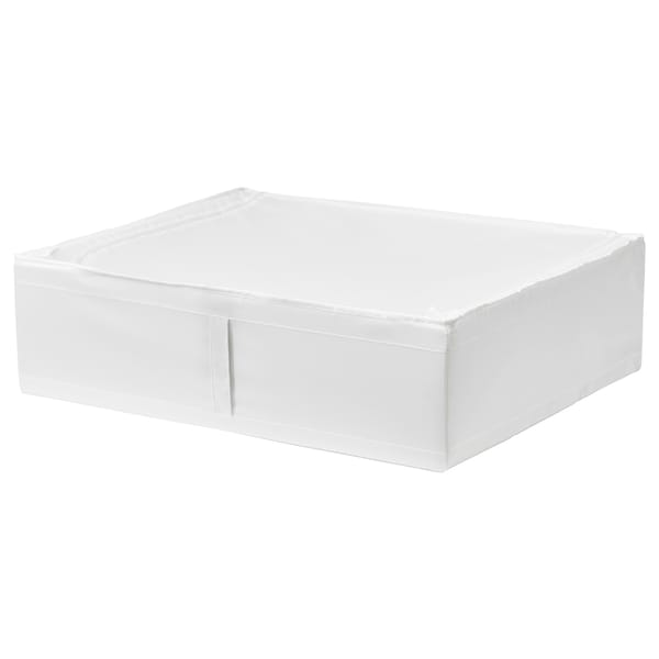 "SKUBB storage case white 27 ¼ "" 21 ¾ "" 7 ½ """