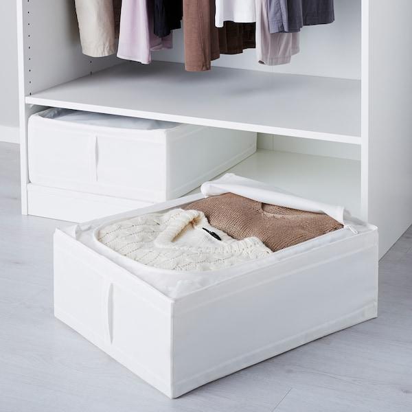 """SKUBB storage case white 17 ¼ """" 21 ¾ """" 7 ½ """""""