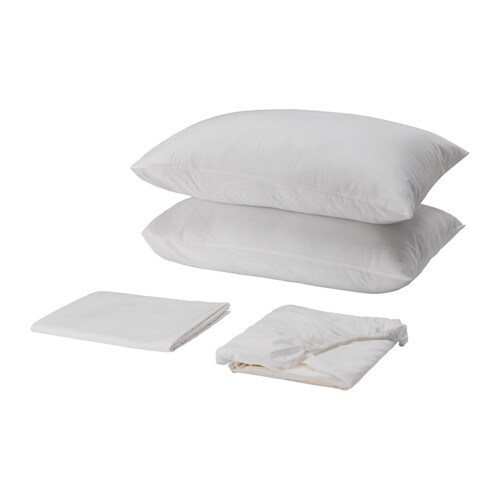 Skvattram sheet set queen ikea for Ikea sheets review