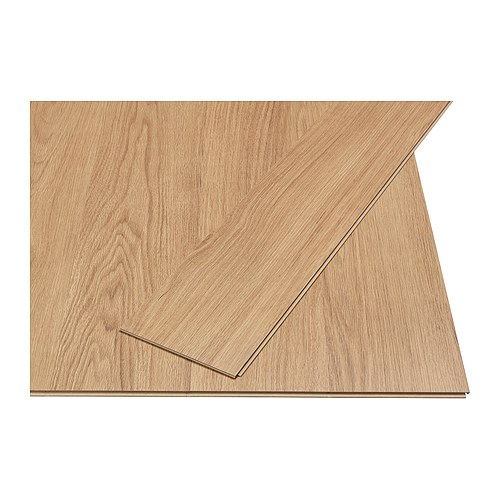 SLÄTTEN Laminated flooring   Flooring with click system is easy to lay; no adhesive required.