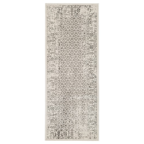 "SNAPTUM rug, low pile white antique look 6 ' 7 "" 2 ' 7 "" ½ "" 17.22 sq feet"