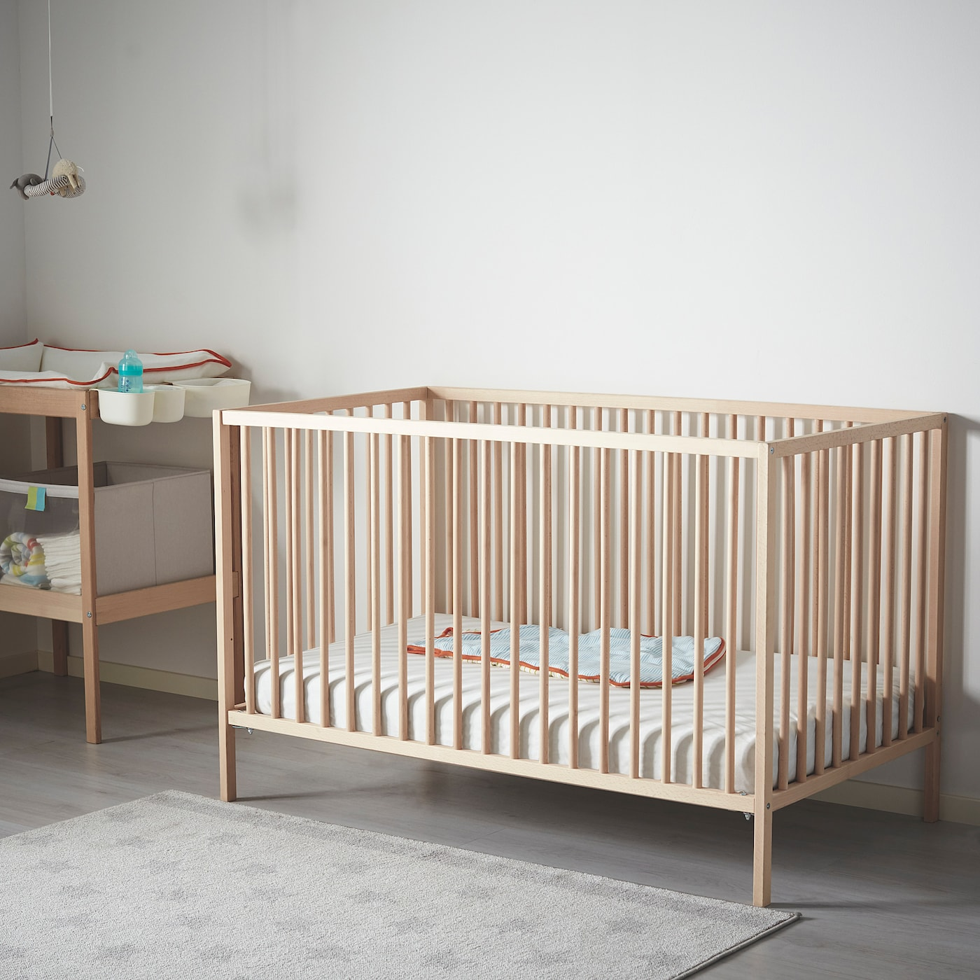 Sniglar Crib Beech Ikea