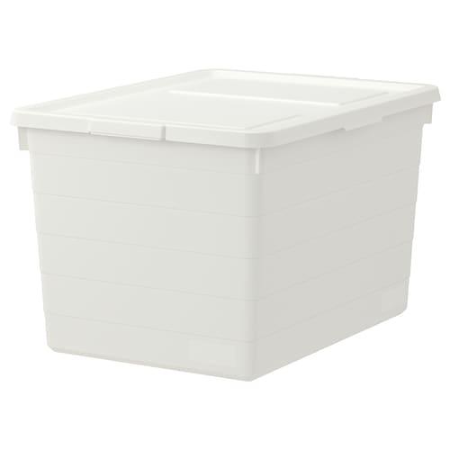 "SOCKERBIT box with lid white 15 "" 20 "" 11 ¾ """