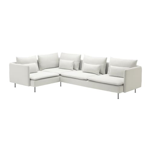 S DERHAMN corner sofa  Finnsta white Min  width  78   Max  width Sectional Sofas   Modern   Contemporary   IKEA. Modern Living Standard Furniture Victoria Bc. Home Design Ideas