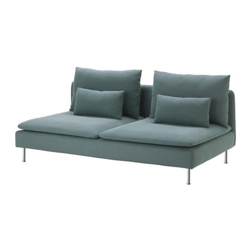 S Derhamn Cover For Sofa Section Finnsta Turquoise Ikea