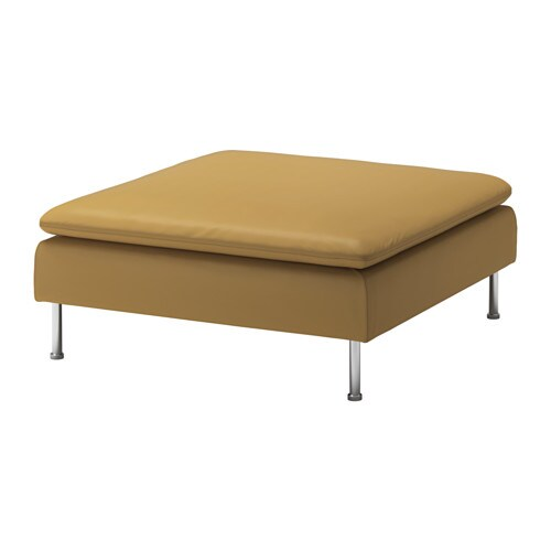 SÖDERHAMN Footstool cover   Durable microfiber which is soft and smooth.