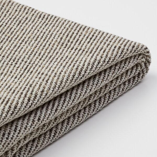 SÖDERHAMN Chaise cover, Viarp beige/brown