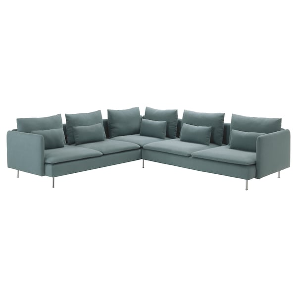 Astounding Soderhamn Sectional 5 Seat Finnsta Turquoise Gmtry Best Dining Table And Chair Ideas Images Gmtryco