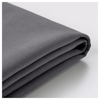 SÖDERHAMN Cover for sofa section, Samsta dark gray