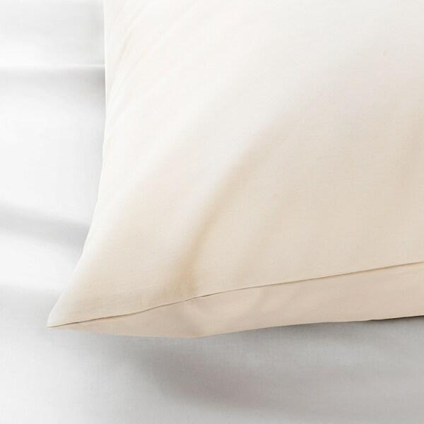 SÖMNTUTA Pillowcase, light beige, King