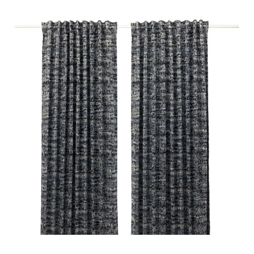 solidaster blackout curtains 1 pair ikea